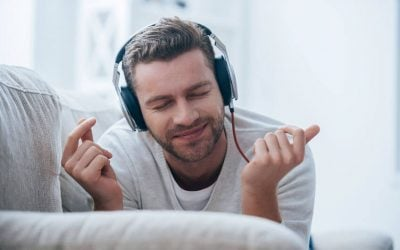man listening to music | Unify Health