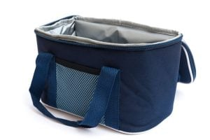 insulated bag for food or drinks