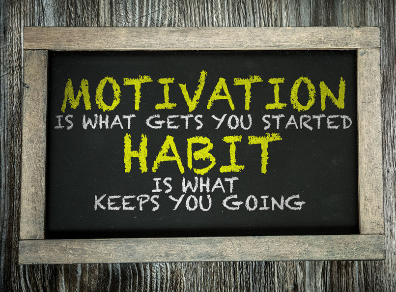 Motivation and habit graphic