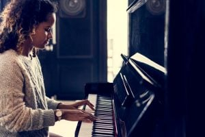 playing piano   Unify Health
