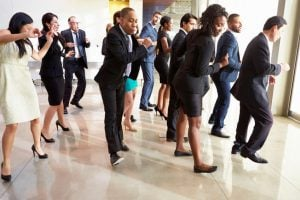 business people dancing | Unify Health