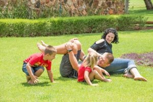 family having fun | Unify Health Labs