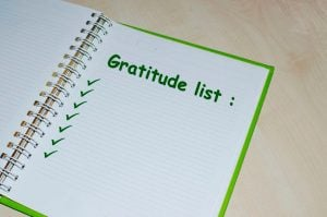 gratitude list | Unify Health Labs