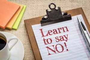 say no | Unify Health Labs