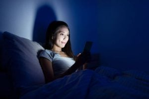 using device in bed | Unify Health Labs