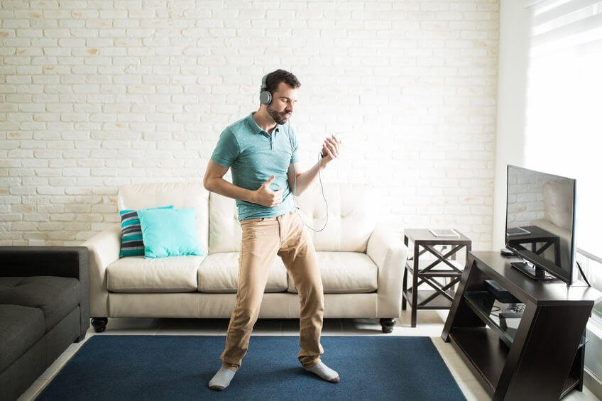 man dancing at home | Unify Health