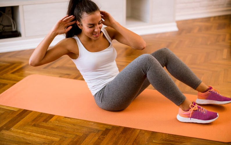 5 Beginner Ab Workouts You Can Do Right At Home: Exercise To Stay Healthy