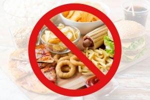 no junk food | Unify Health Labs