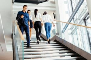 taking the stairs | Unify Health