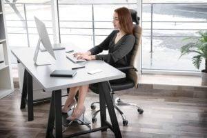 proper desk posture | Unify Health Labs