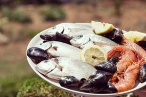 plate of seafood | Unify Health