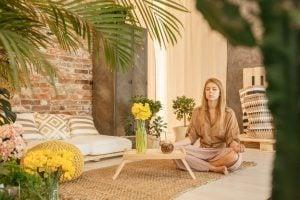 woman meditating | Unify Health