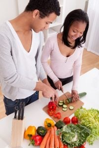 couple chopping veggies | Unify Health