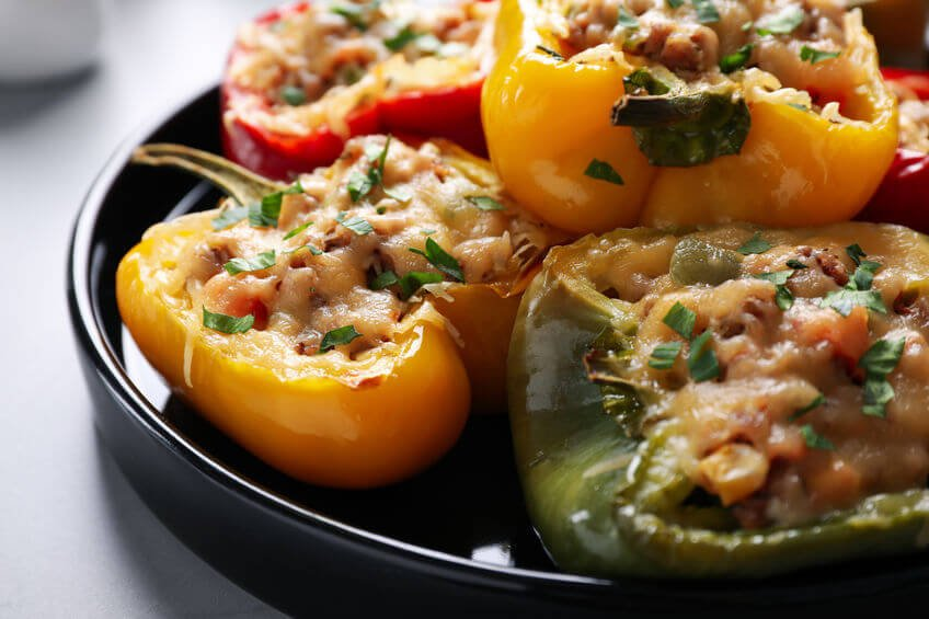 stuffed bell peppers | Unify Health