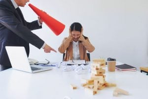 scolding office worker | Unify Health