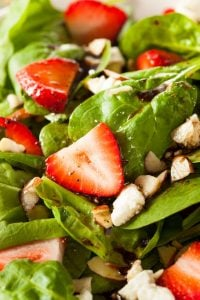 spinach salad with strawberries   Unify Health