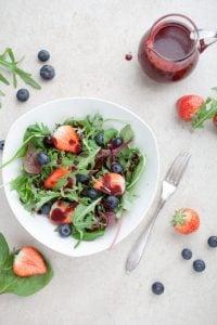 strawberry spinach salad recipe   Unify Health